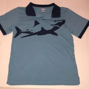Gymboree Shark Shirt Size 8